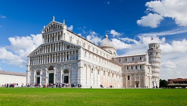 Meteo Pisa: oggi pioggia moderata, domani pioggia moderata, lunedì 12 aprile temporale