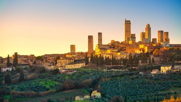 Foto di San Gimignano
